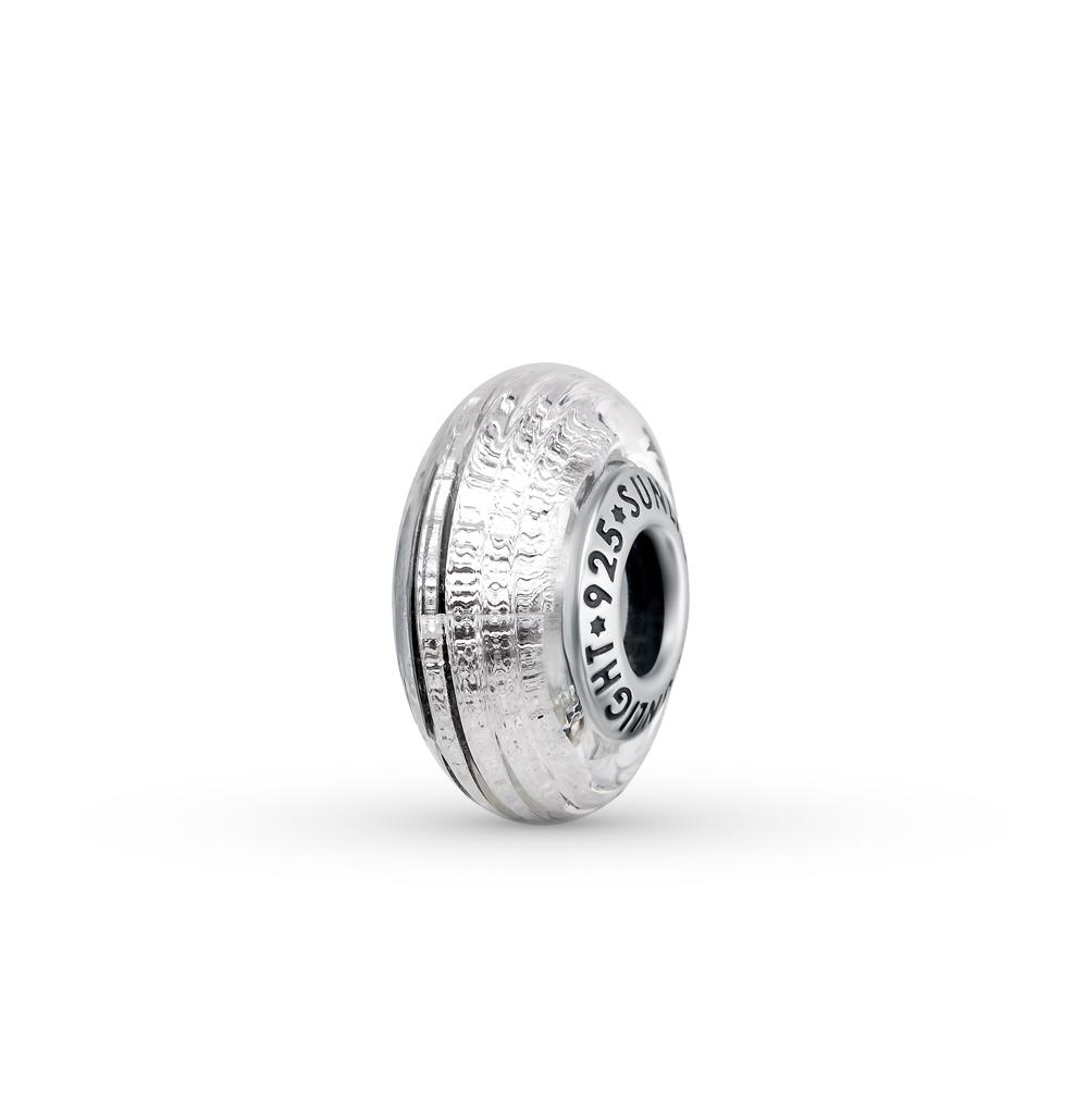 Фото «серебряная подвеска - шарм с алпанитами»