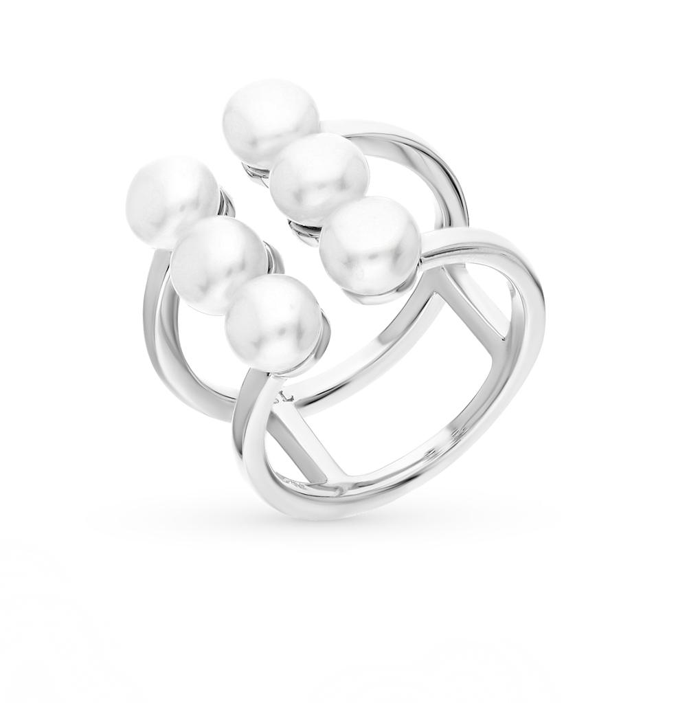 Фото «серебряное кольцо с жемчугами»