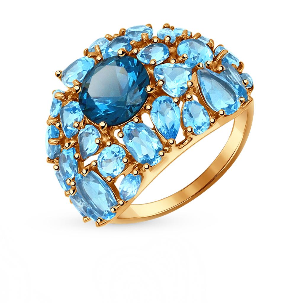 Фото «золотое кольцо с лондонами ситалами и топазами»
