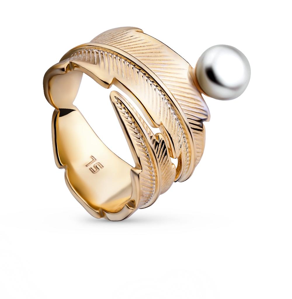 Фото «серебряное кольцо с культивированными жемчугом»