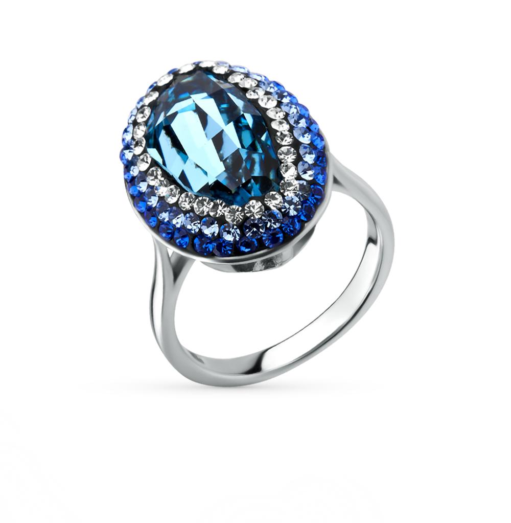 Фото «серебряное кольцо с кристаллами swarovski»