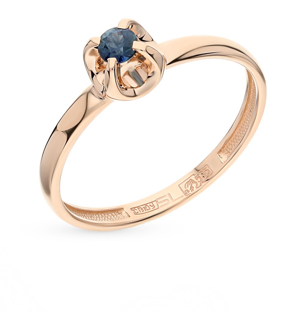 Фото «золотое кольцо с сапфирами»