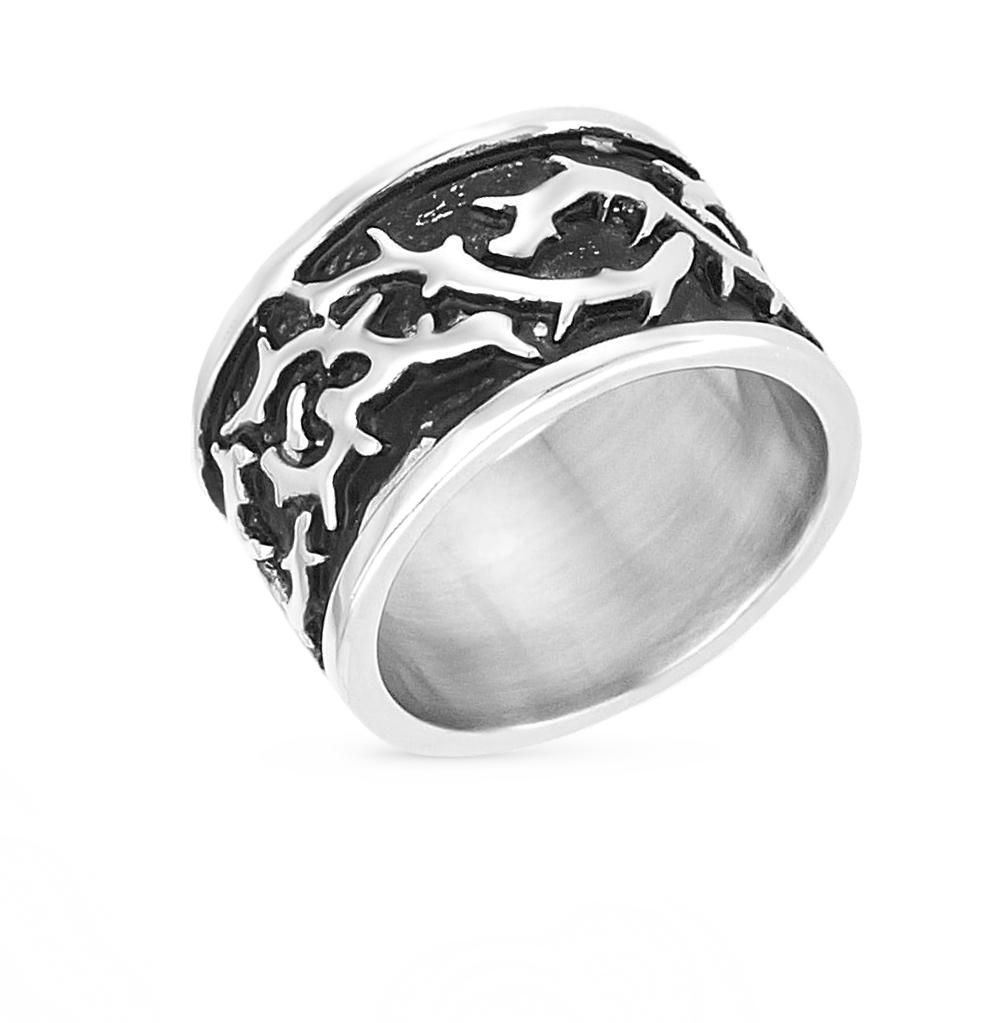 Фото «кольцо из стали с эмалью»